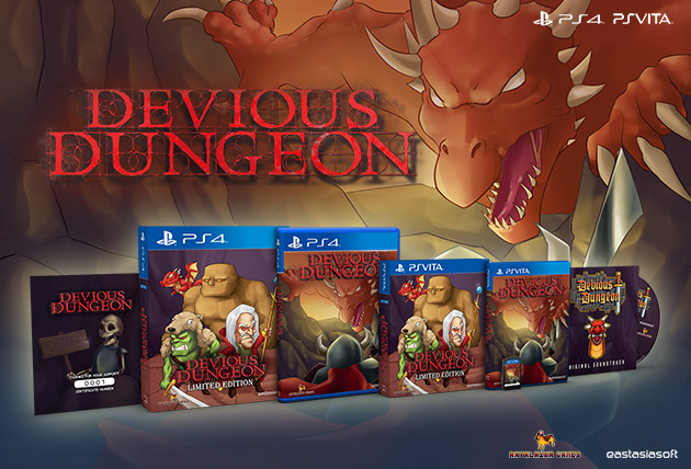 Devious Dungeon Limited Edition