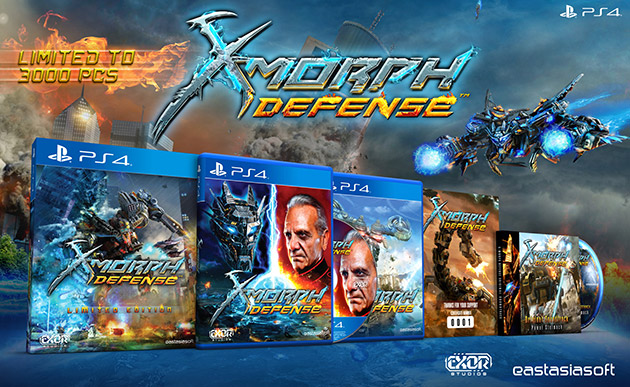 X-Morph: Defense Limited Editions