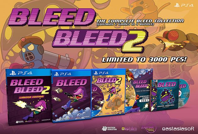 Bleed 1 & Bleed 2 Limited Edition