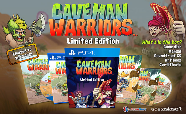 CavemanWarriors Limited Edition