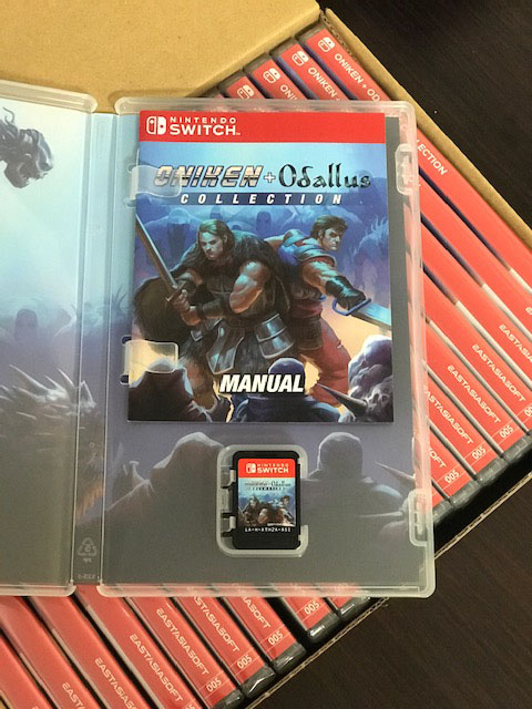 Oniken + Odallus Collection Nintendo Switch