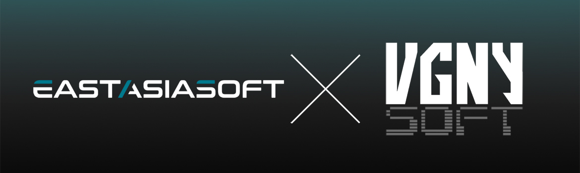Eastasiasoft Limited Enters Partnership with VGNYsoft for Select Physical Titles