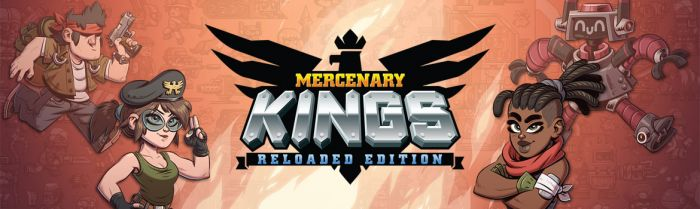 Mercenary Kings: Reloaded Edition PS Vita Limited Edition