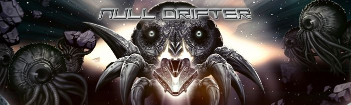 Shoot & Dash in the Bullet Hell Twin-Stick Shooter 'Null Drifter'