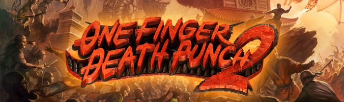 Two-Button Kung-Fu Brawler One Finger Death Punch 2 Hits PS4