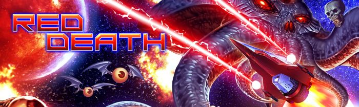 Dodge & Destroy in the Retro-Style Shoot'em Up 'Red Death'