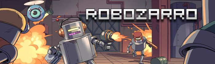 2D Physics Mayhem! 2D Action Platformer 'Robozarro' Coming Next Week!